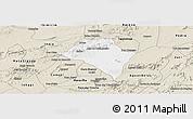 Classic Style Panoramic Map of Itaiba