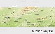 Physical Panoramic Map of Itaiba