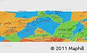 Political Panoramic Map of Itaiba