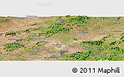 Satellite Panoramic Map of Itaiba