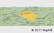 Savanna Style Panoramic Map of Itaiba