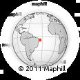 Outline Map of Itaquitinga