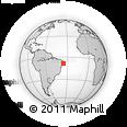 Outline Map of Joaquim Nabuco