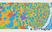 Political Map of Pernambuco