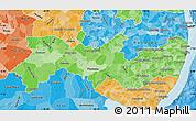 Political Shades Map of Pernambuco
