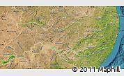 Satellite Map of Pernambuco