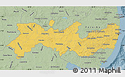 Savanna Style Map of Pernambuco