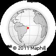 Outline Map of Moreno