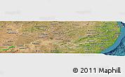 Satellite Panoramic Map of Pernambuco
