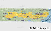 Savanna Style Panoramic Map of Pernambuco