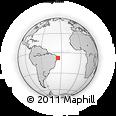 Outline Map of Paudalho