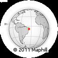 Outline Map of Pesqueira