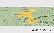 Savanna Style Panoramic Map of Petrolandia
