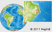 Physical Location Map of Primavera