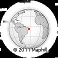 Outline Map of Primavera