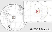 Blank Location Map of S. Dos Moreiras