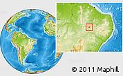 Physical Location Map of S. Dos Moreiras