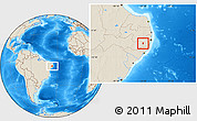 Shaded Relief Location Map of S Joaquin D Mont