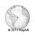 Outline Map of Salgueiro