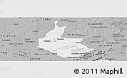 Gray Panoramic Map of Salgueiro