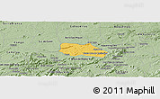 Savanna Style Panoramic Map of Santa Cruz do Capibaribe