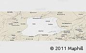 Classic Style Panoramic Map of Sertania