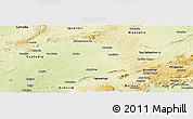 Physical Panoramic Map of Sertania