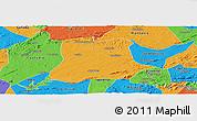 Political Panoramic Map of Sertania