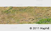 Satellite Panoramic Map of Sertania