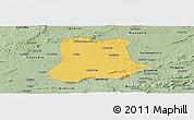 Savanna Style Panoramic Map of Sertania