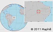 Gray Location Map of Trindade