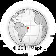 Outline Map of Tuparetama