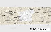 Classic Style Panoramic Map of Fronteiras