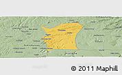 Savanna Style Panoramic Map of Fronteiras