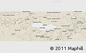 Classic Style Panoramic Map of Ipiranga Piaui