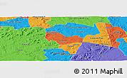 Political Panoramic Map of Ipiranga Piaui