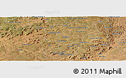 Satellite Panoramic Map of Ipiranga Piaui