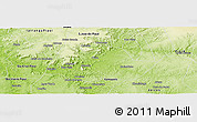 Physical Panoramic Map of Picos