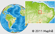 Physical Location Map of S.Antonio Lisboa