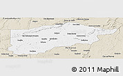 Classic Style Panoramic Map of S.Raimundo Nonat