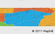 Political Panoramic Map of S.Raimundo Nonat