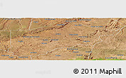 Satellite Panoramic Map of S.Raimundo Nonat