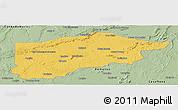 Savanna Style Panoramic Map of S.Raimundo Nonat
