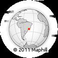 Outline Map of Barra Mansa