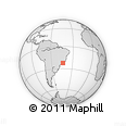 Outline Map of Mendes