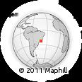 Outline Map of Paraiba Do Sul