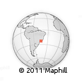 Outline Map of Parati