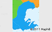 Political Simple Map of Parati