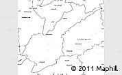 Blank Simple Map of Petropolis