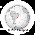 Outline Map of Pirai
